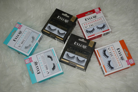 New Release | Eylure SS/17 Lashes Line Up | Review