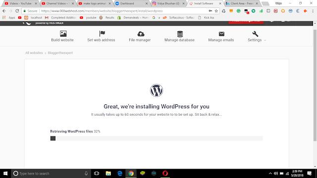 Create free website
