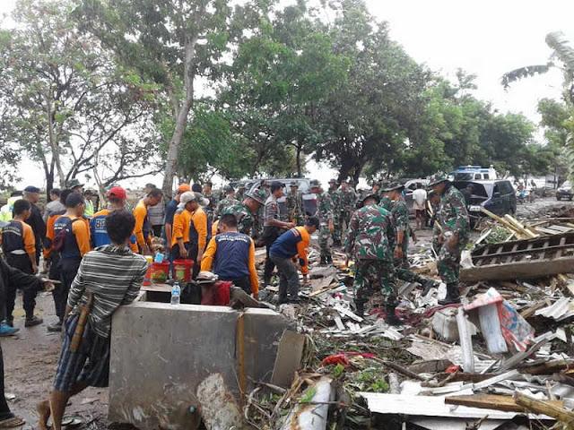 Korban Meninggal Tsunami di Selat Sunda Capai 222 Orang, 843 Terluka