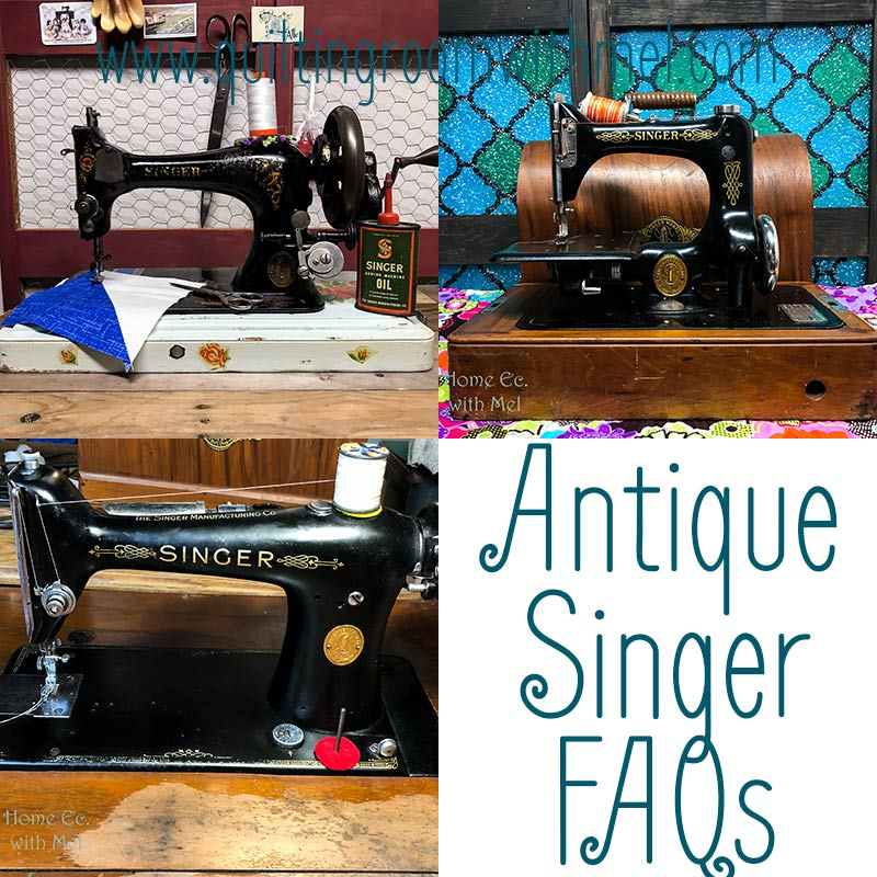 Have questions about Singer Sewing Machines? The answers are here, how to fix, how old, where to get a manual