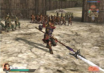 Cheat Dynasty Warrior 5 PS2 Lengkap