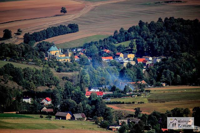 Wambierzyce widok z Pielgrzyma