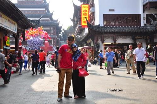 Melancong percuma ke Shanghai dengan Awesomazing team di istana tradisi cina