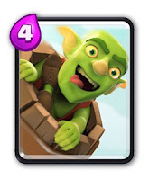 Cartas Clash Royale - Barril do Goblin