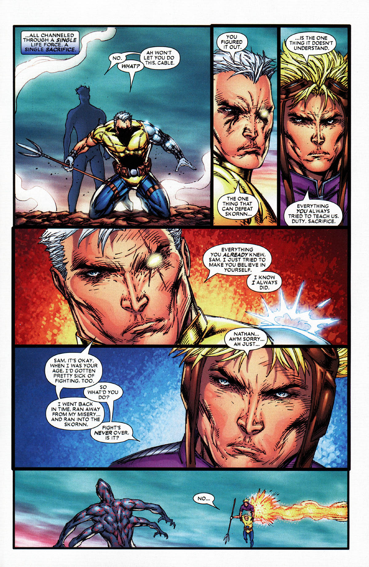 Read online X-Force (2004) comic -  Issue #6 - 27