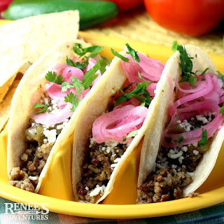 Ground Pork Carnitas Tacos