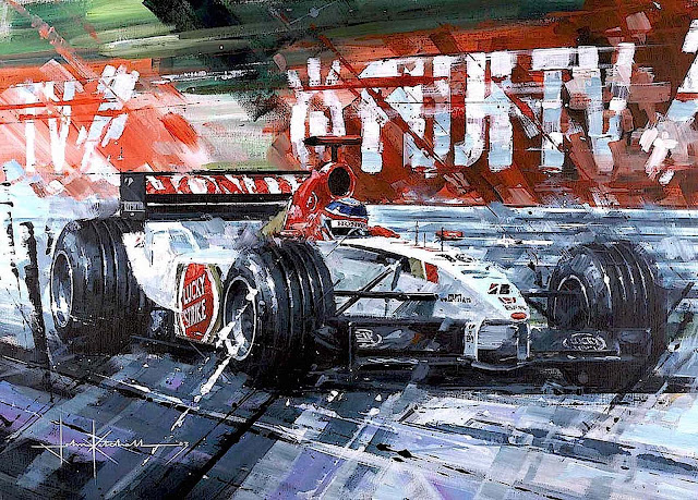 John Ketchell formula one racing art