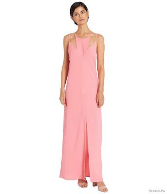 vestidos largos sencillos elegantes