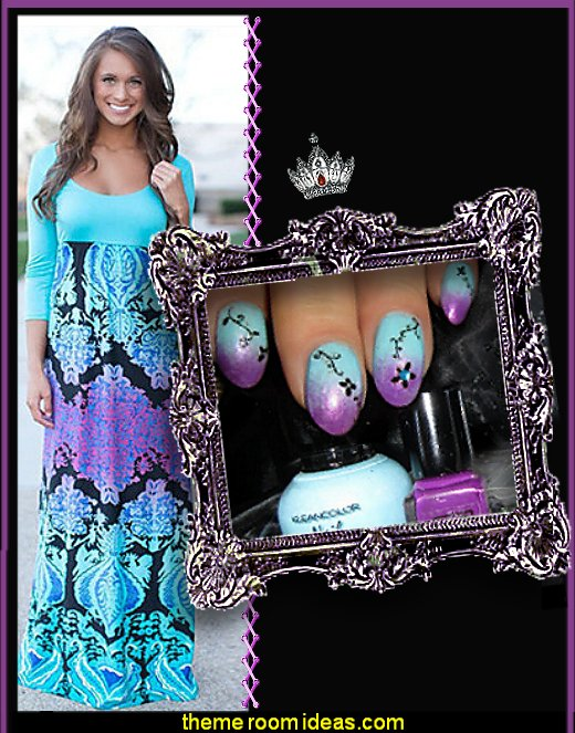 nail design dress fashion decorating nails