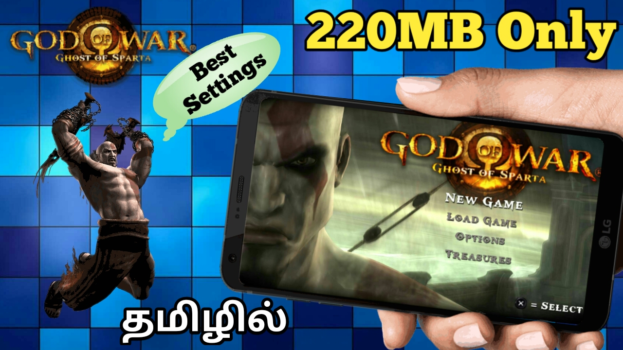 God of war ghost of sparta ppsspp android best settings | God Of War