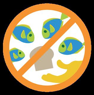 No alimentar a los peces