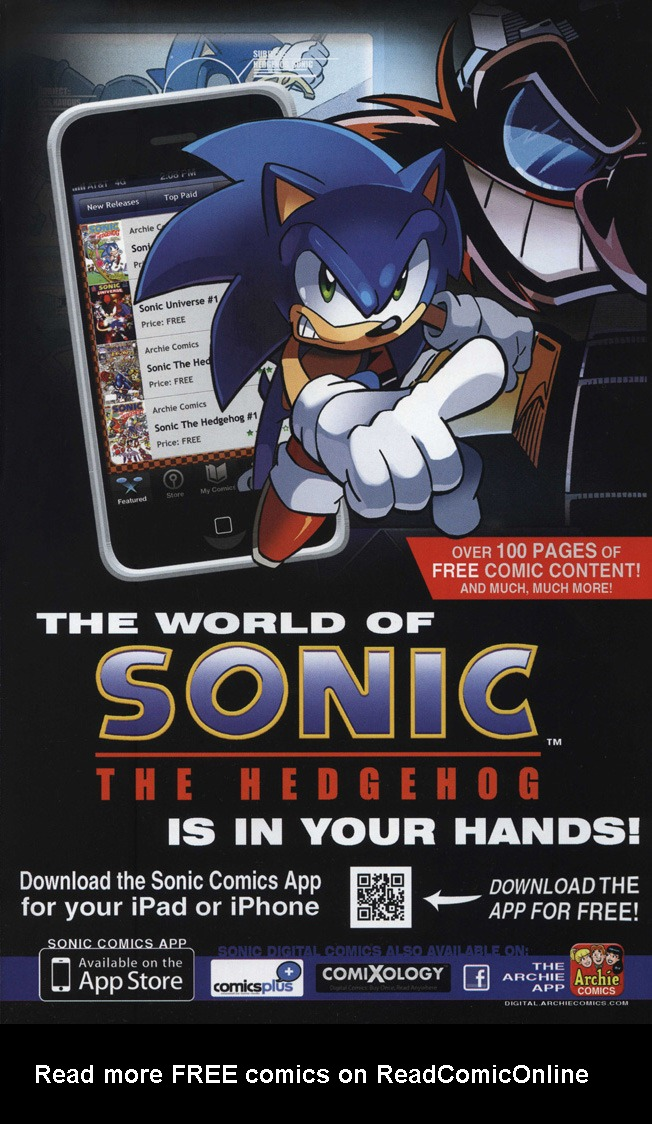 Read online Sonic The Hedgehog comic -  Issue #246 - 2