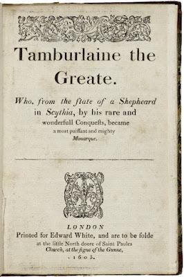 Tamburlaine Marlowe
