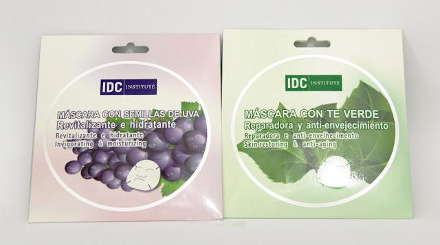 IDC Institsute máscara con semillas de uva y té verde