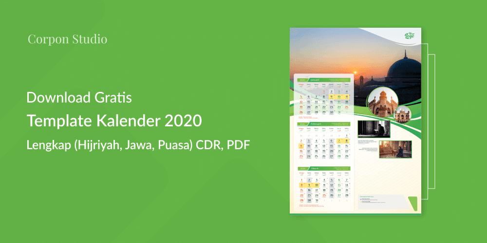 Download Template Kalender 2020