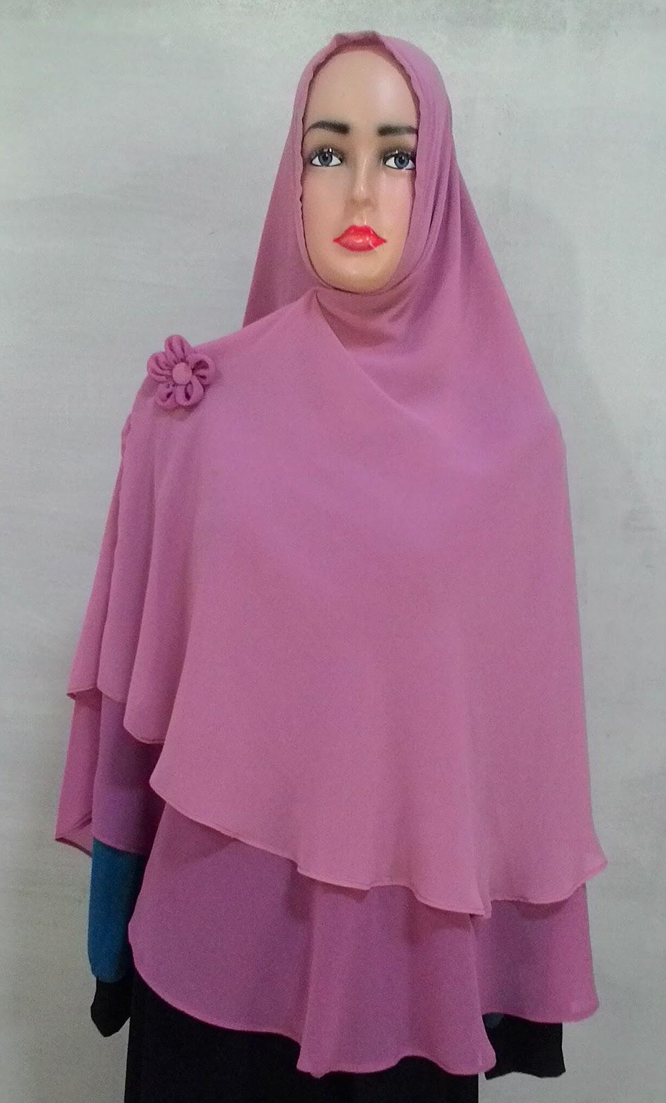 Jilbab Khimar Instan Bolak-Balik Non Pet 05