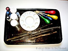 Making magic wands.