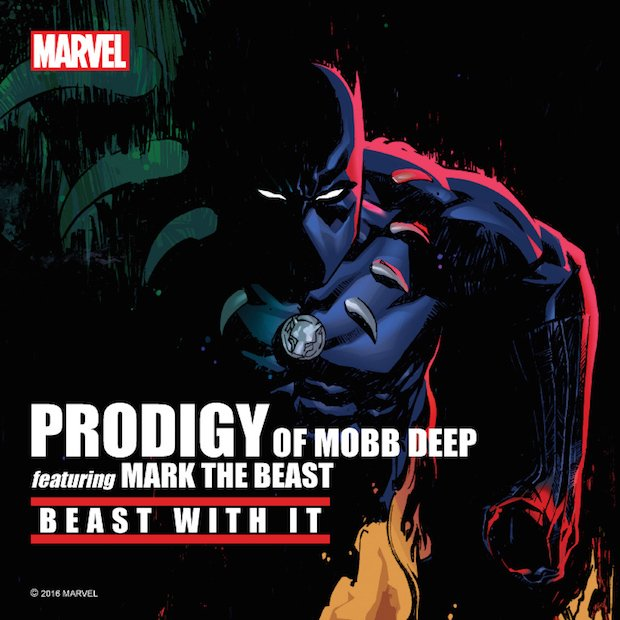 Prodigy of Mobb Deep feat Mark The Beast : Beast With It (Audio) | 2016