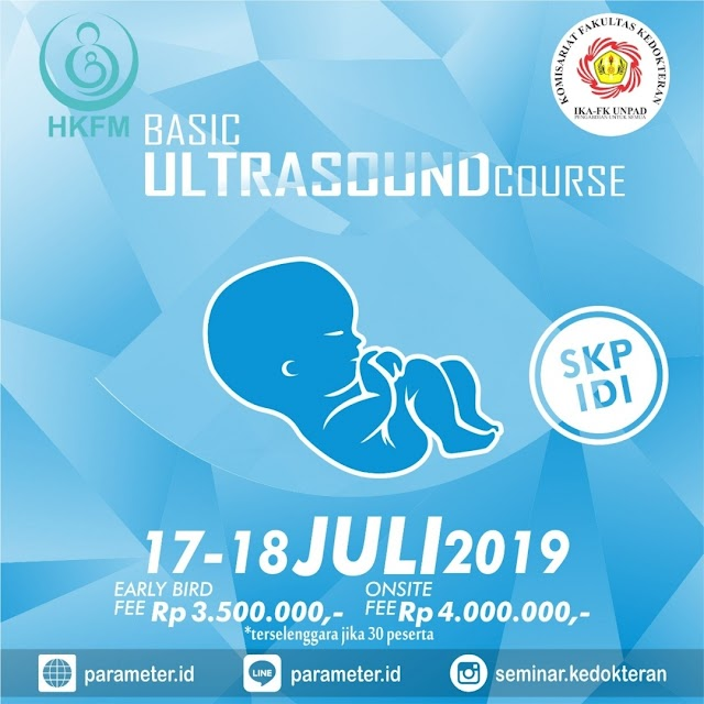 Pelatihan Basic Ultrasound Course (USG) on Obgyn 17-18 Juli 2019 Bandung (SKP IDI)