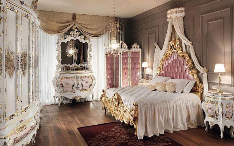 10 mẫu phòng ngủ phong cách Royal sang trọng và đẳng cấp nhất5