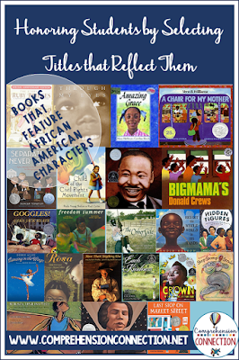 It's so important for children to see themselves in the books we use. These wonderful pieces of literature feature African American characters perfect for your mentor text lessons and for guided reading.