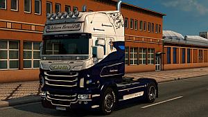 Asbjorn Hereald skin for Scania RJL