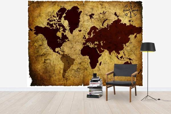 http://www.photowall.fi/photo-wallpaper/old-manuscript-of-world-map