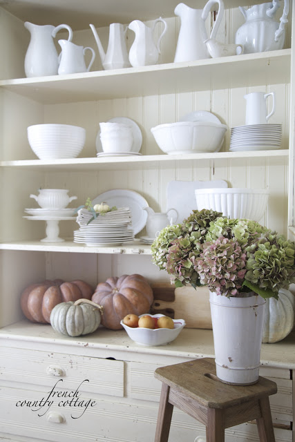 Friday favorites 3 simple tips on how to style shelves for French country shelves