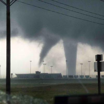 Tornado in Dodge City, Kansas