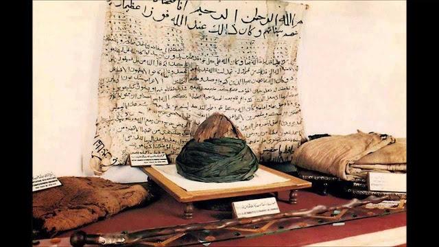 7 Harta Benda Peninggalan Nabi Muhammad di Turki