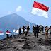 Peringatan HUT RI Anak Gunung Krakatau