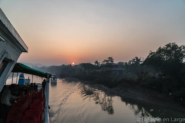Mrauk-U vers Sittwe-Birmanie-Myanmar