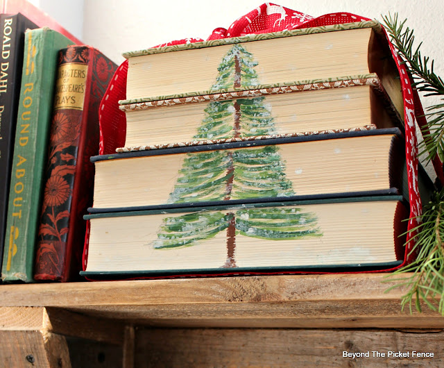 Paint a Tree on Old Books