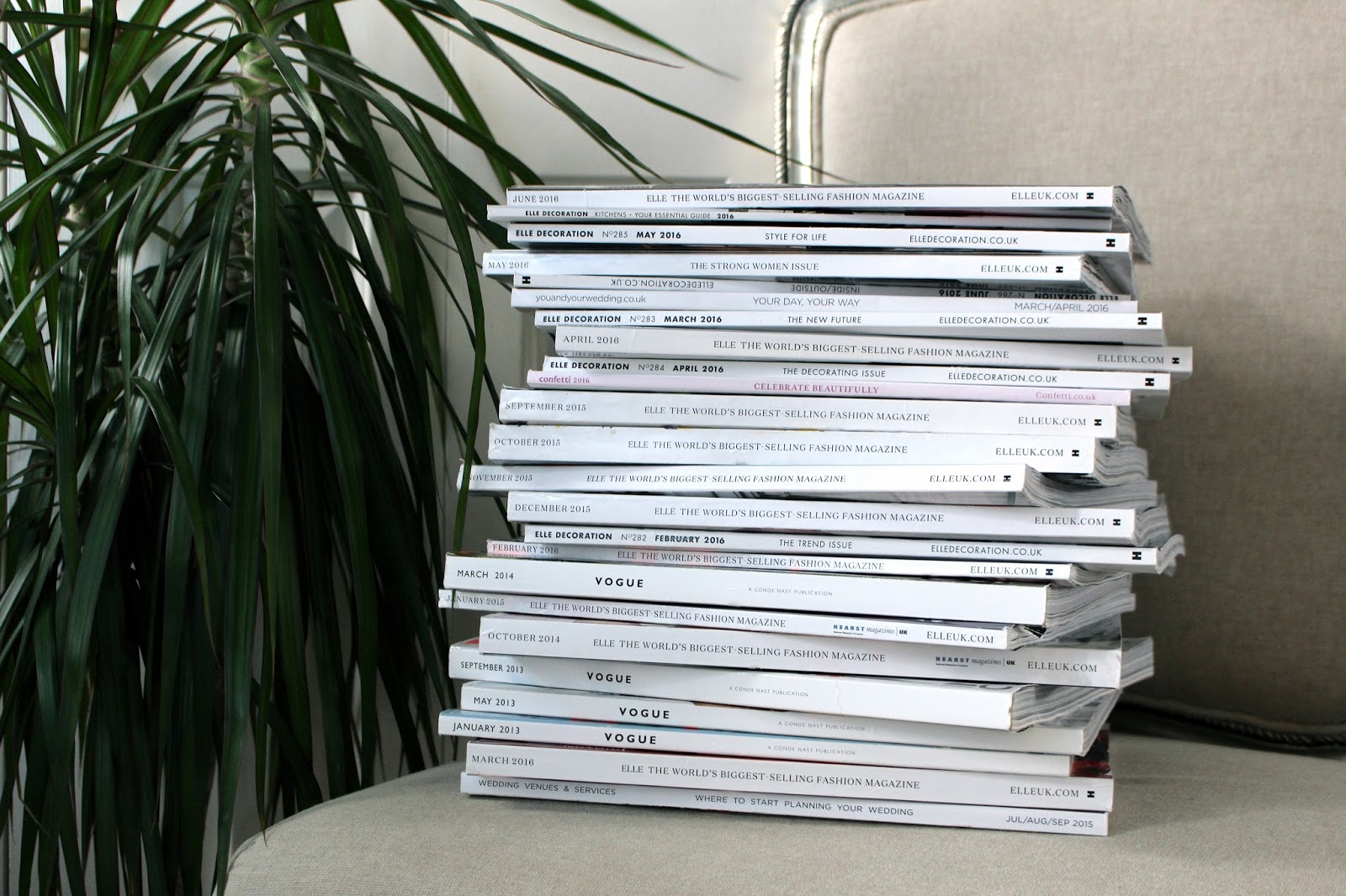 magazine stack blog