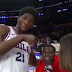 Joel Embiid postgame interview interrupted by Kevin Hart (Video)