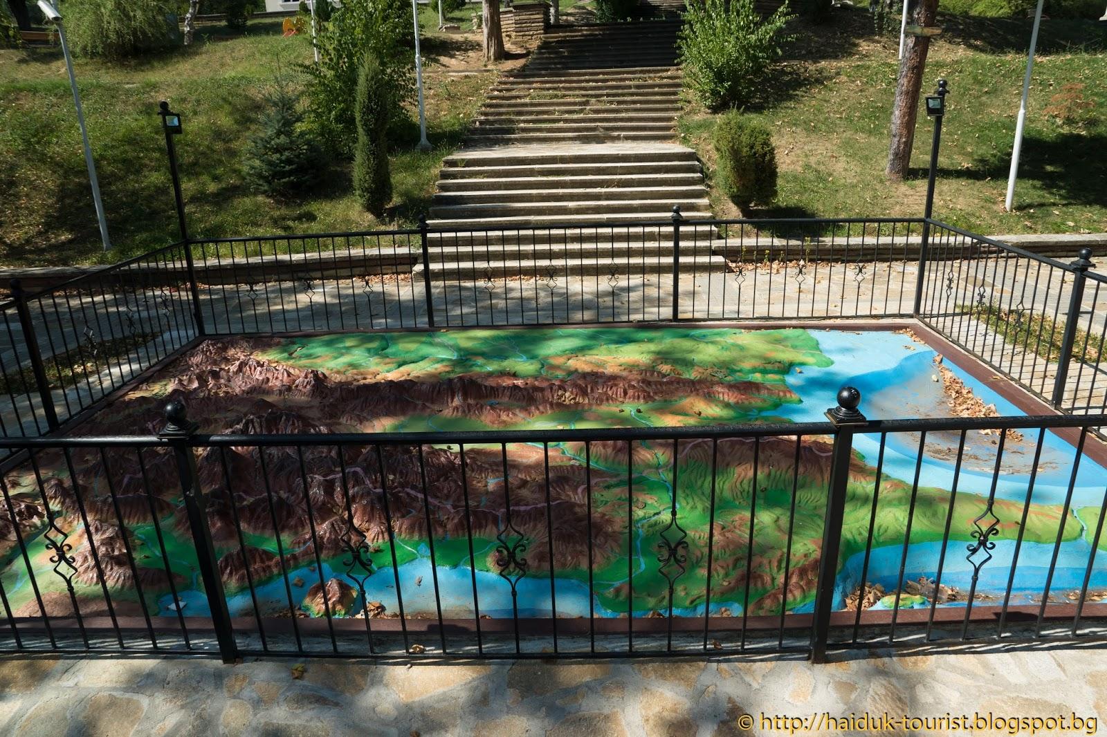 Budala Turist Relefna Karta Na Blgariya Dryanovo