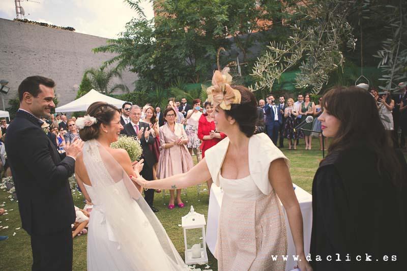 boda en el jardín