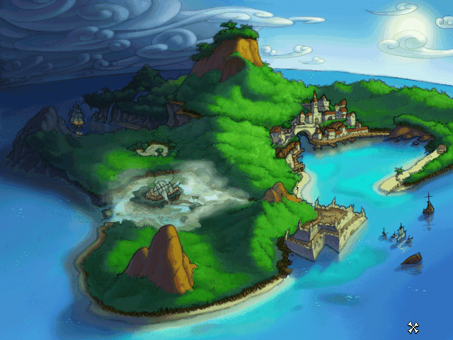 Super Adventures In Gaming: The Curse Of Monkey Island (PC