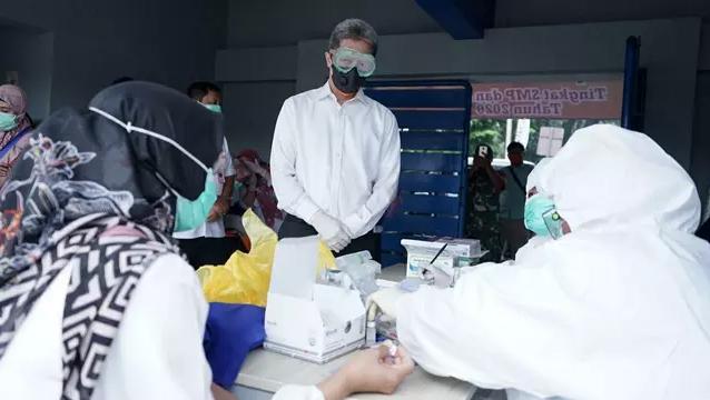 Kasus Pasien Positif Covid-19 di Kabupaten Bogor Bertambah Drastis