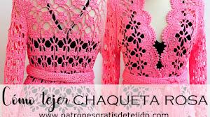 Cómo tejer la hermosa chaqueta rosa / DIY