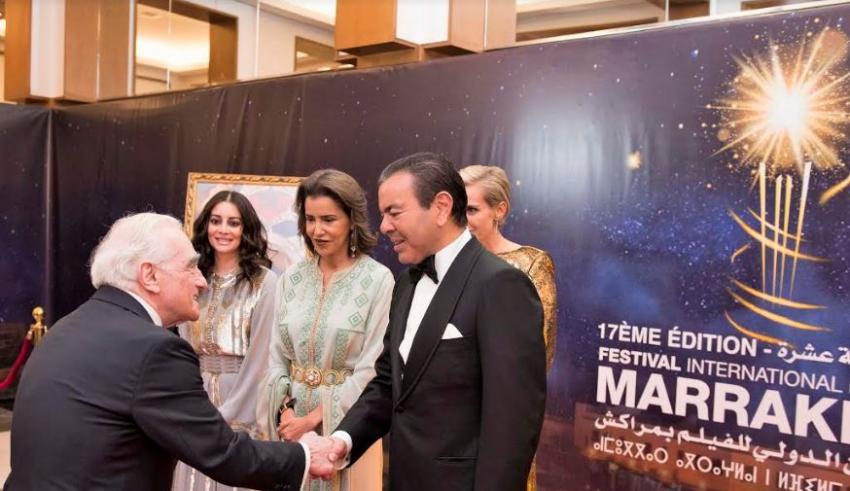 عشاء فاخر يجمع الأمير مولاي رشيد و أفراد الأسرة الملكية بنجوم السينما العالمية