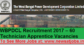 WBPDCL-60-Technician-Apprentice-Recruitment-2017
