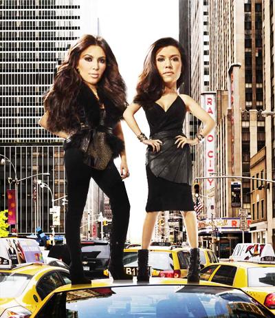 En imágenes: mundo cabezón - Kim and Kourtney Kardashian | Ximinia