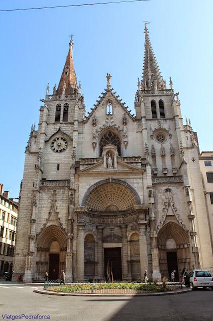 Eglise Saint-Nizier, Presqu'ile, Lyon, Lió, Rhône, Rhône-Alpes, França, France