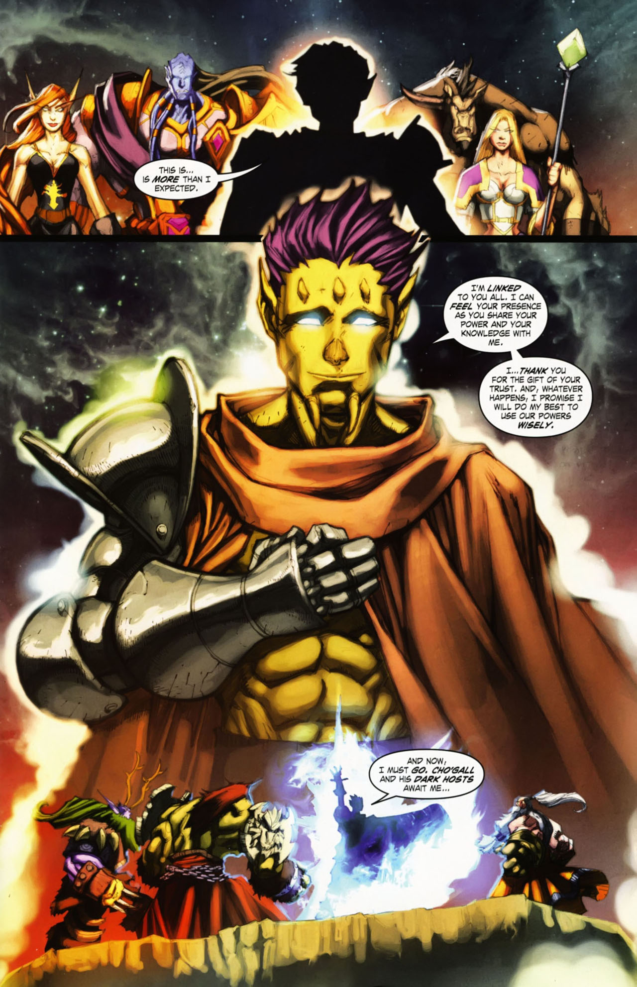 Read online World of Warcraft comic -  Issue #25 - 6