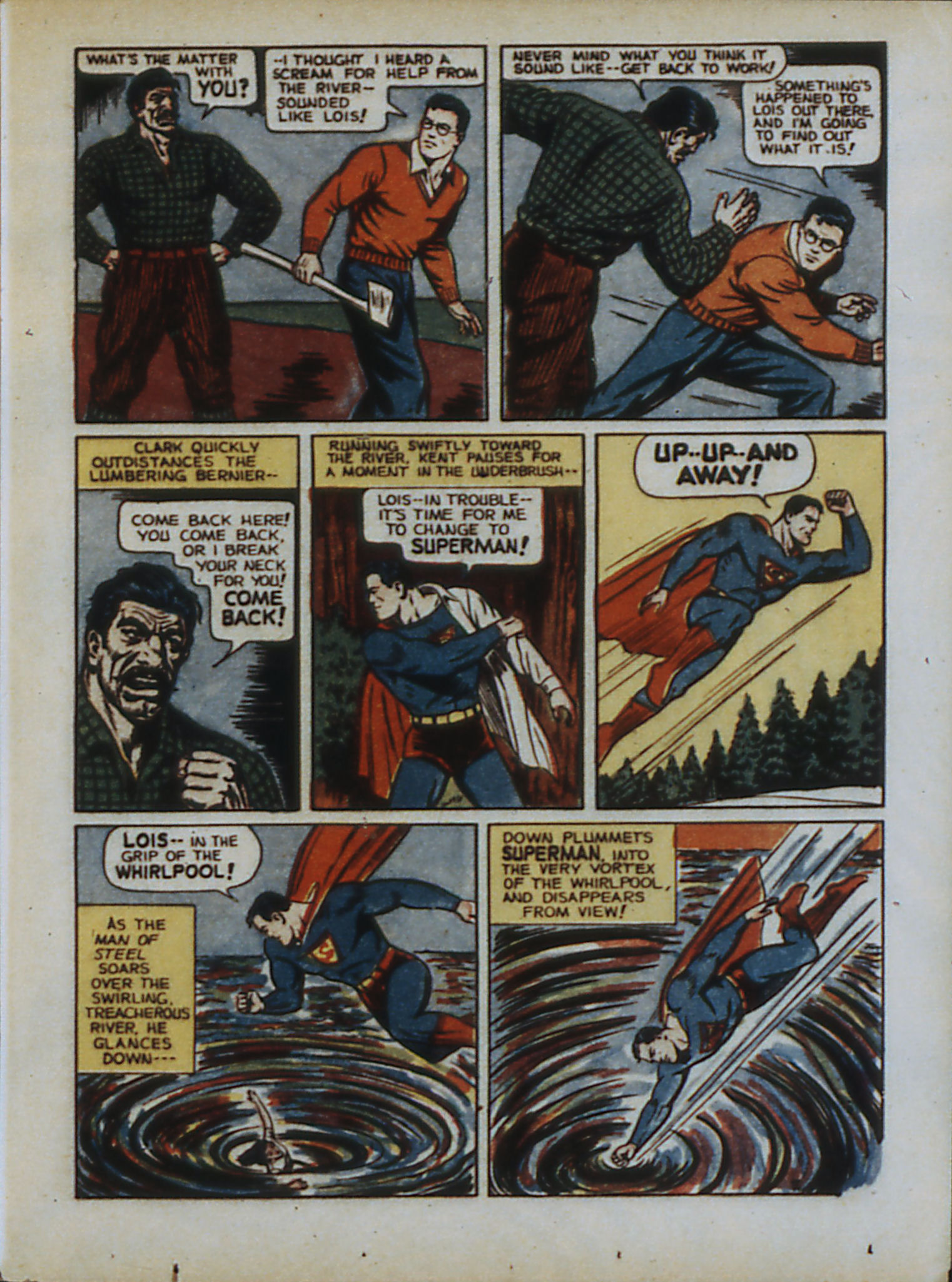 Read online Action Comics (1938) comic -  Issue #33 - 10