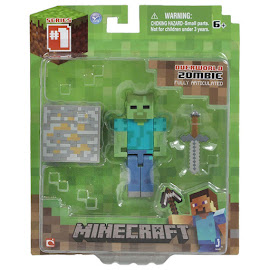 Minecraft Series 1 Zombie Overworld Figure