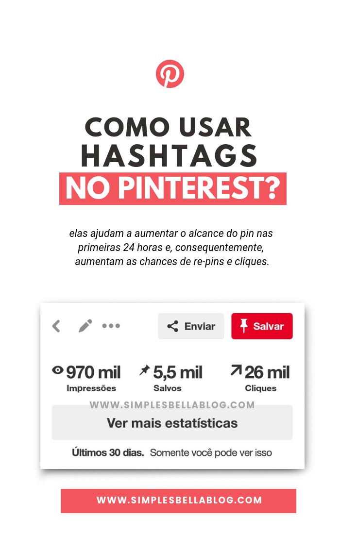 Como usar hashtags no Pinterest