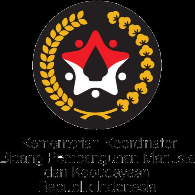 Logo Kementerian Koordinator Bidang Pembangunan Manusia dan Kebudayaan Republik Indonesia