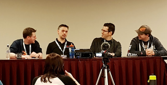 AireCon 2018 - Top 5 Tips for Teaching Games Panel | Random Nerdery